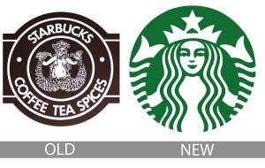 Brand update of Starbucks